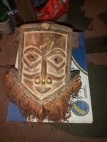 Antik Afrikai maszk 18 sz.