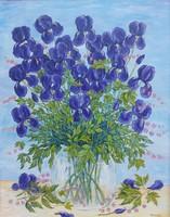 Petal - flower still life (70x90.5 cm)