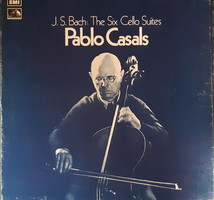 Pablo casals cello - bach: 6 cello suites lp vinyl record vinyl