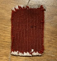 Antique old miniature hand-knotted hand-knotted wool rug baby dollhouse dollhouse accessory