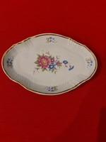 Ravenhouse dawn patterned oval plate, offering.