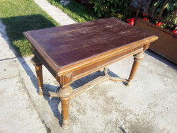 Antique card table, card table