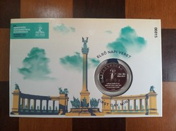 International Eucharistic Congress HUF 50 first day mint in decorative packaging 2021