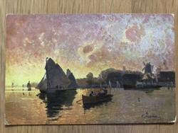 Antik képeslap - 1904