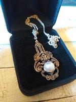 Antique silver pendant