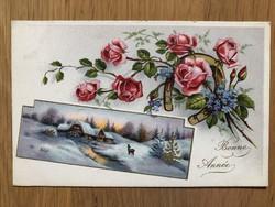 Antik képeslap - 1940