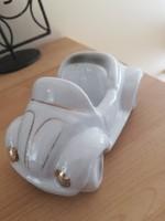 Régi porcelán autó