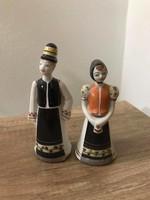 Raven house porcelain matyo pair small