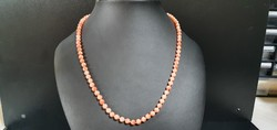 Old coral necklace 54 cm