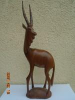 Huge sized gazelle 100% lifelike 46.5 cm flawless m.A. Sign ...