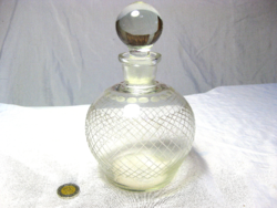 Nice shaped beverage bottle with a tightly closed glass cap g 57/1