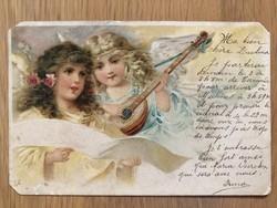 Antik képeslap - 1901
