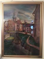 Sz great s. Sopron ikva stream painting space