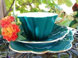 Angol zöld teás trió