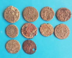 10 római kisbronz