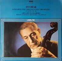 Gregor Piatigorsky Cello Dvorak Concert LP Vinyl Record Vinyl
