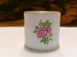 Herend porcelain match holder