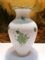 Herend porcelain vase 23.5 cm, flawless