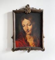 Renaissance style female portrait