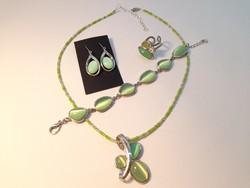 Mint green jewelry jewelry set
