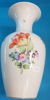 Herend vase with bouquet of tulips