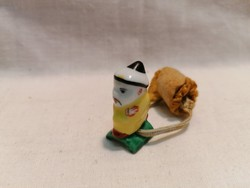 Herend oriental rare miniature porcelain figurine