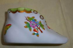 Herend Victorian patterned porcelain shoes