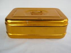 Metal snack box