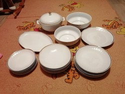 Gdr porcelán étkészlet