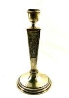 Decorative 925 Hungarian silver candle holder! (1966 - 1999)
