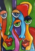 B. Presecan dawn painting / canvas 70x50cm