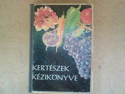 Kertészek  kézikönyve 1958