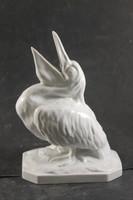 Herend rare signaled pelican 558