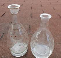 Old glass butelia