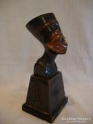 Queen Nefertit busts copper or bronze