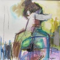 D. Szabó Modern Nude ART festmény