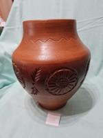 Ceramic vase 24 cm