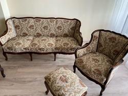 Antique neo-baroque living room furniture