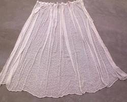 Ecru cotton pair of curtains (2 / 210x310)
