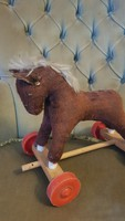 Old horse riding toy