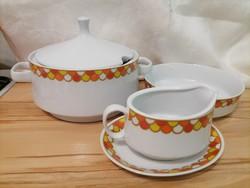 Ritka Alföldi porcelán pótlásnak