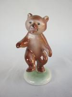 Retro ... Kőbánya drasche porcelain figurine nipple teddy bear teddy bear