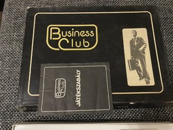 Old business club board game from the 70s