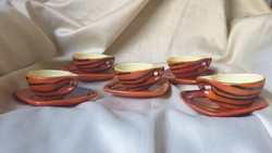 Retró Tófej Kávés csésze