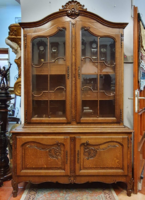 Antique sideboard or showcase bookcase