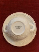 Villeroy boch soup cups with plate