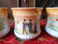Zsolnay lyceum geisha scenes mug