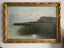Greguss Imre: Balaton  Kenese 1907
