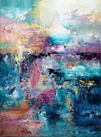 """""""A napfény érzése"""" Absztrakt tájkép, modern festmény,Eredeti alkotás!"""