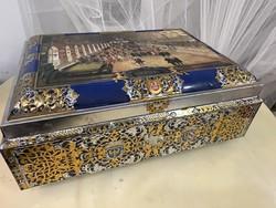 Huge metal cake metal box :-)